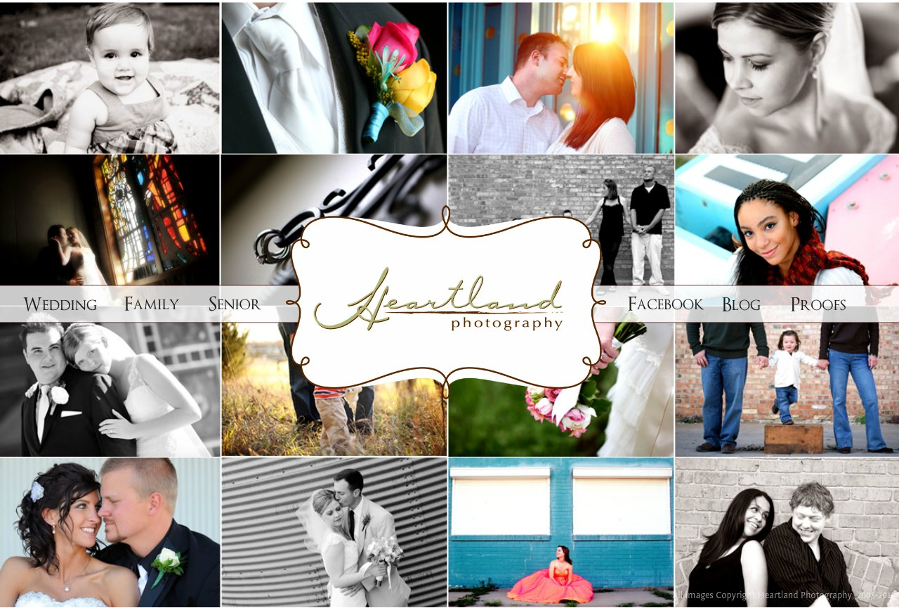 Heartland Photography: family, wedding and senior pictures in Wichita, KS; Salina, KS; Hutchinson, KS; Hays, KS