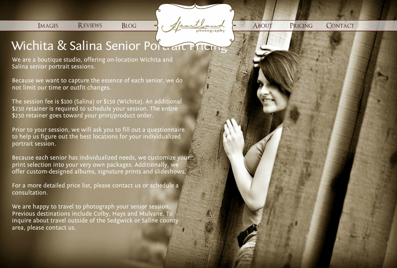 Wichita KS Senior Pictures; Salina KS Senior Portrait Photography