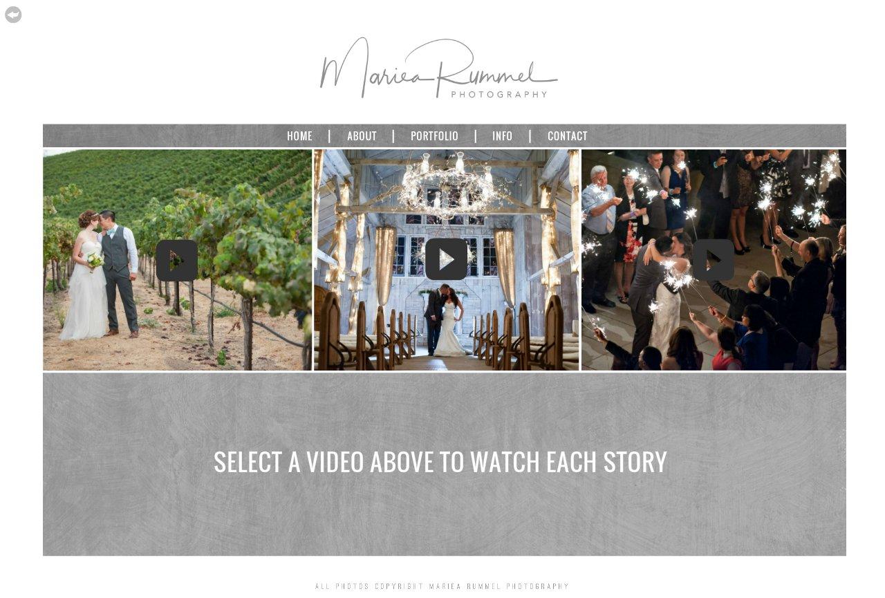 SLIDESHOWS - Sacramento, Lake Tahoe Wedding Photographer | Mariea Rummel Photography