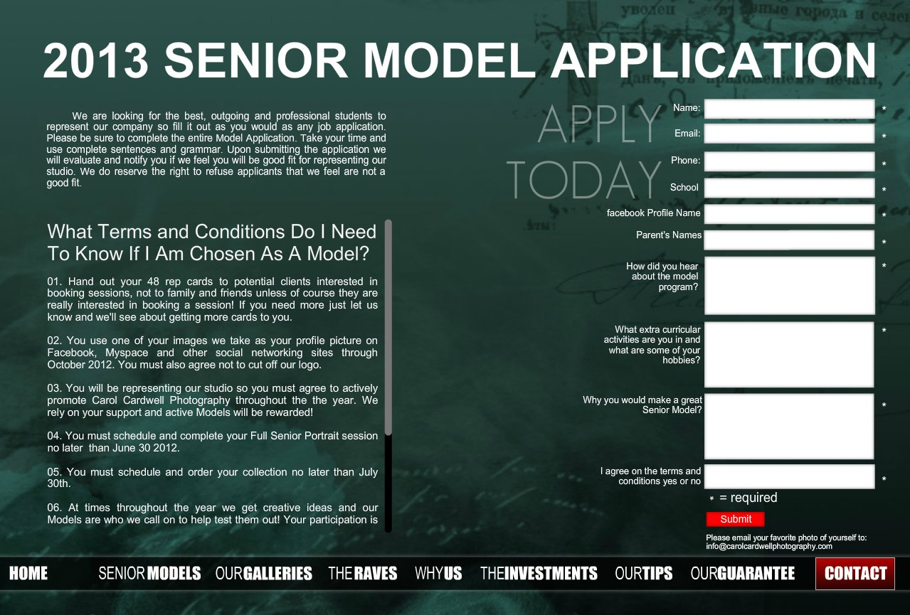 Model Application