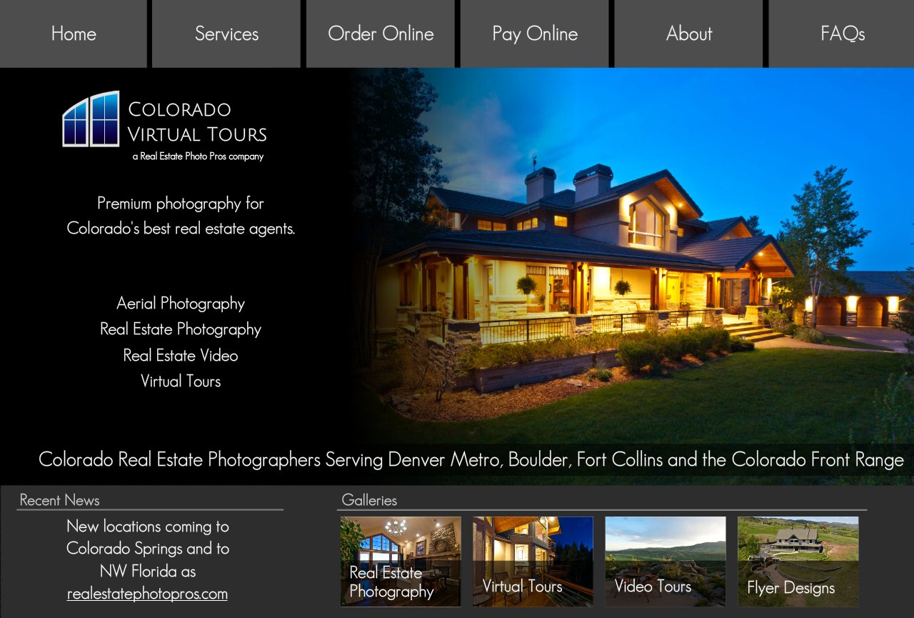 Colorado Virtual Tours Real Estate Photography and Video