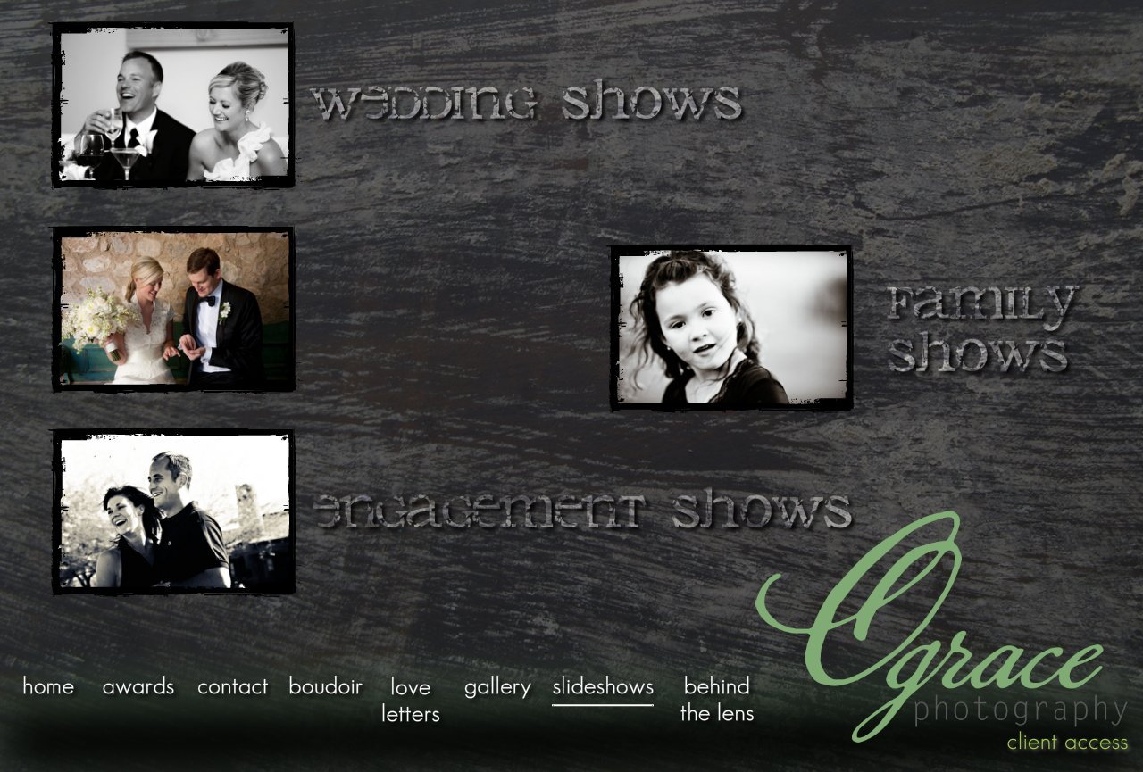 O Grace Photography Phoenix Slideshows