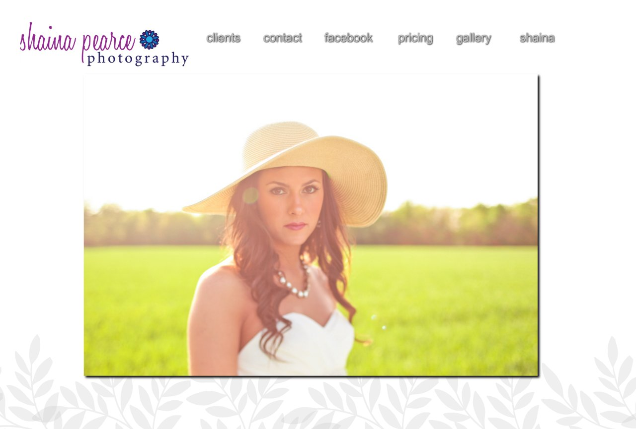 Wichita Wedding and Portrait Photographer home page