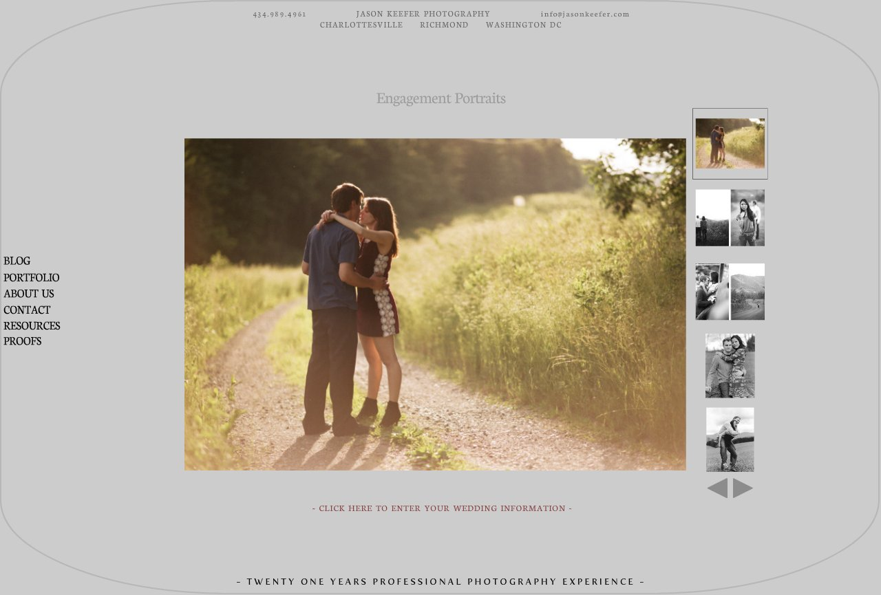 Engagement Portrait Photography Portfolio