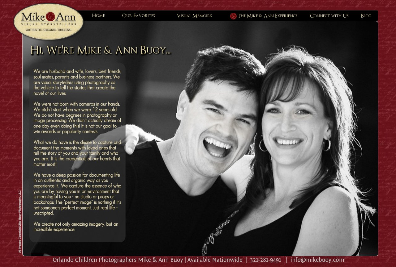 Mike and Ann Story