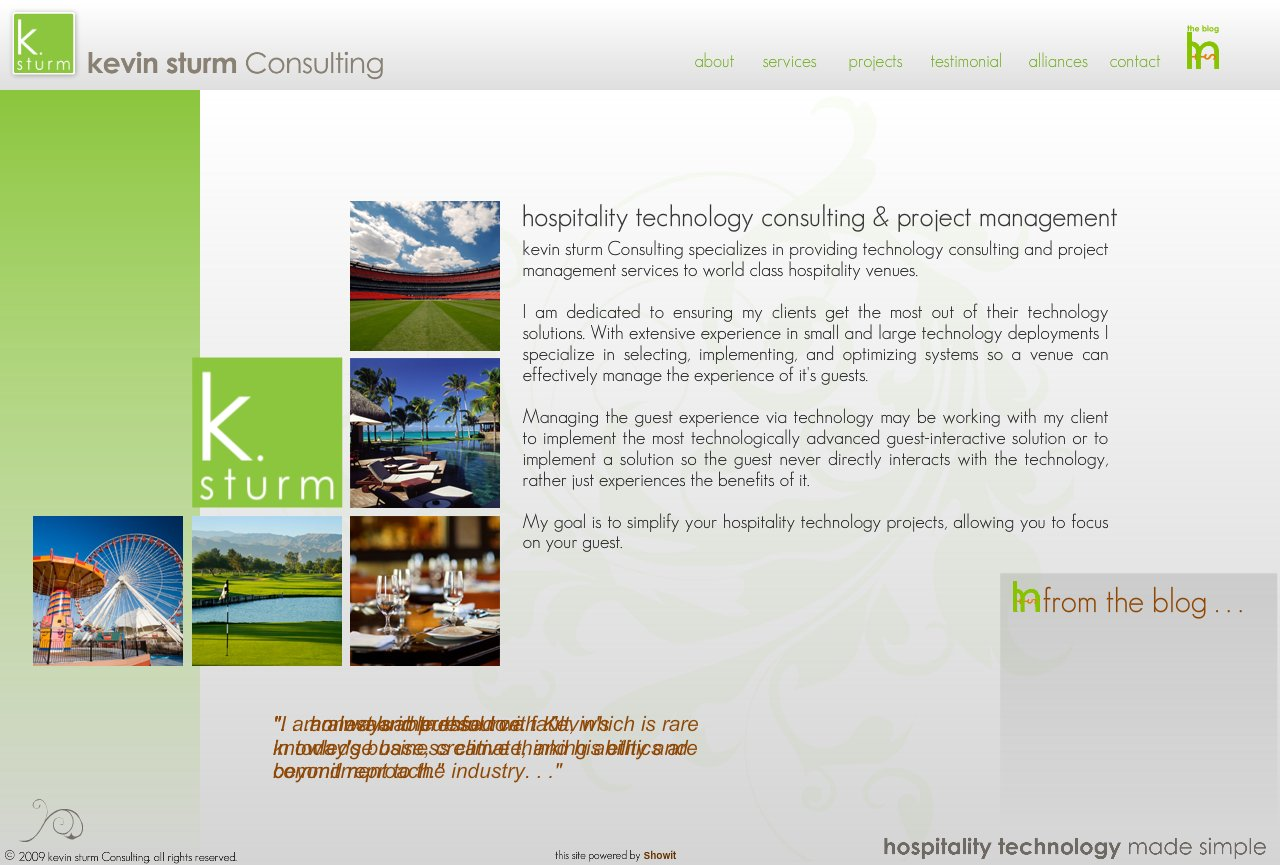 a leading hospitality technology consulting and project management firm helping you get the most from your investments.