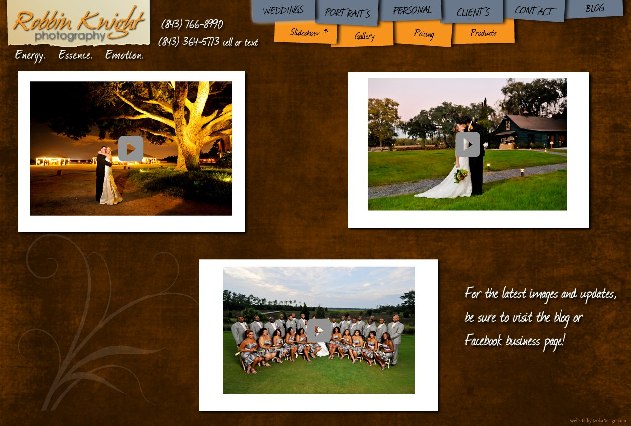 Wedding Slideshow Examples-2 - Robbin Knight Photography - Wedding Photography