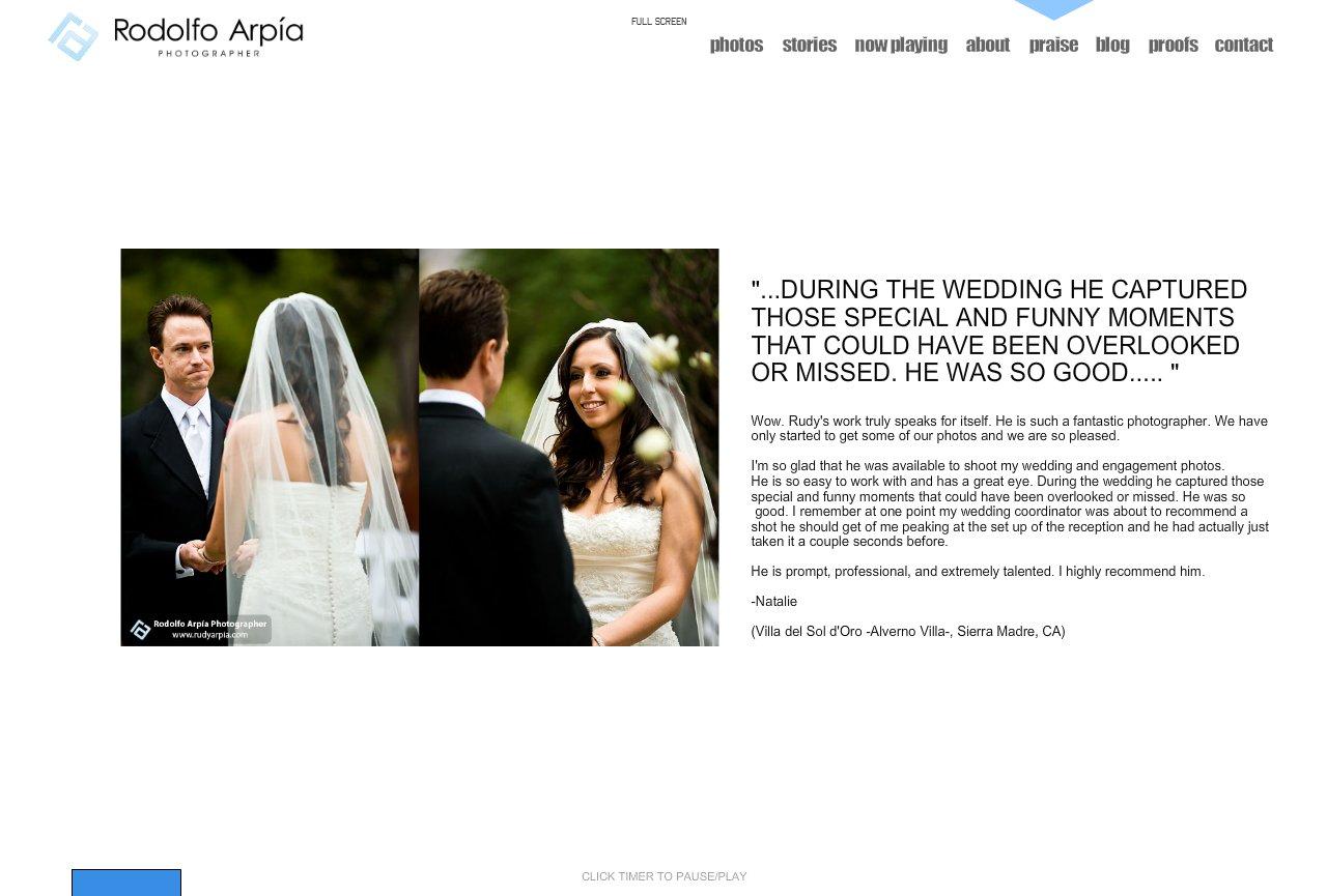 Rodolfo Arpia reviews and testimonials