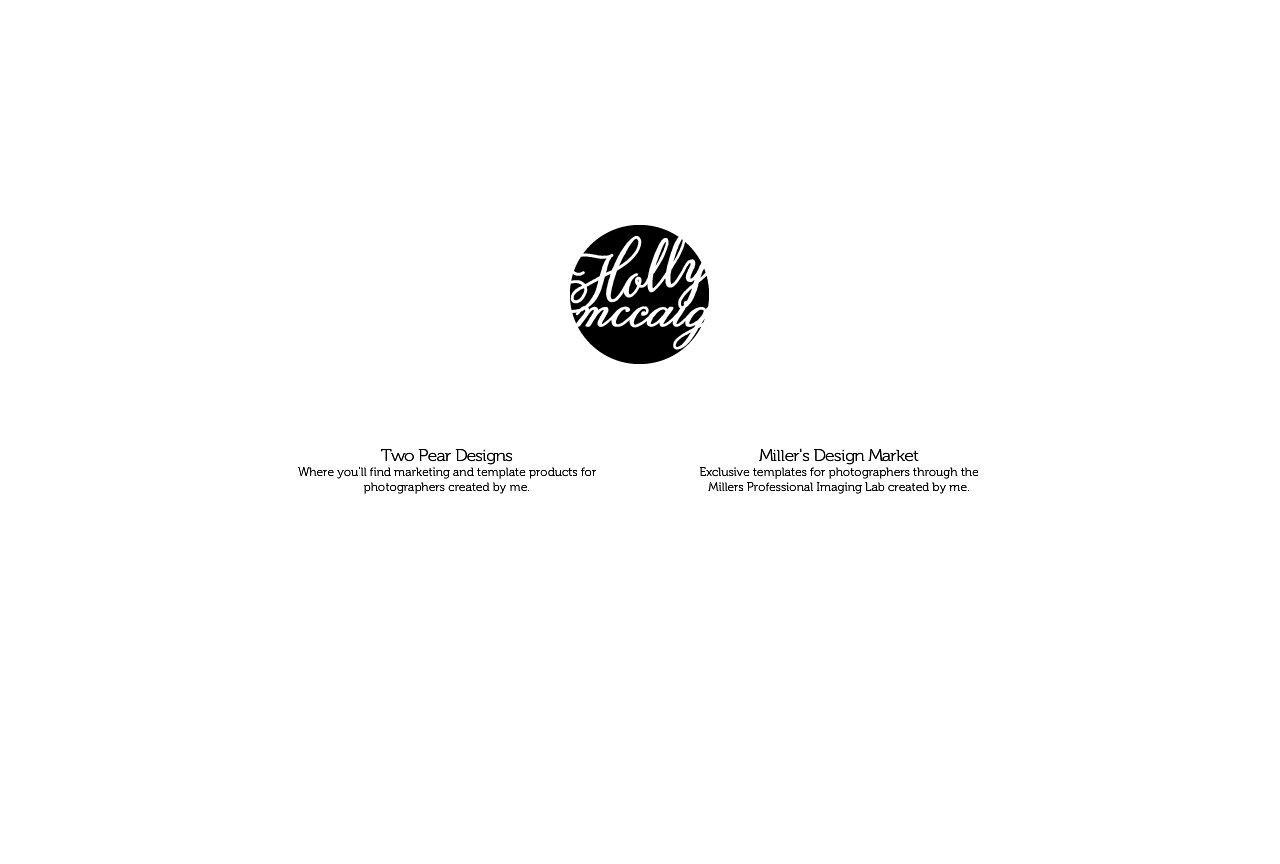 Holly McCaig Designs, LLC | Creative Branding for Photographers