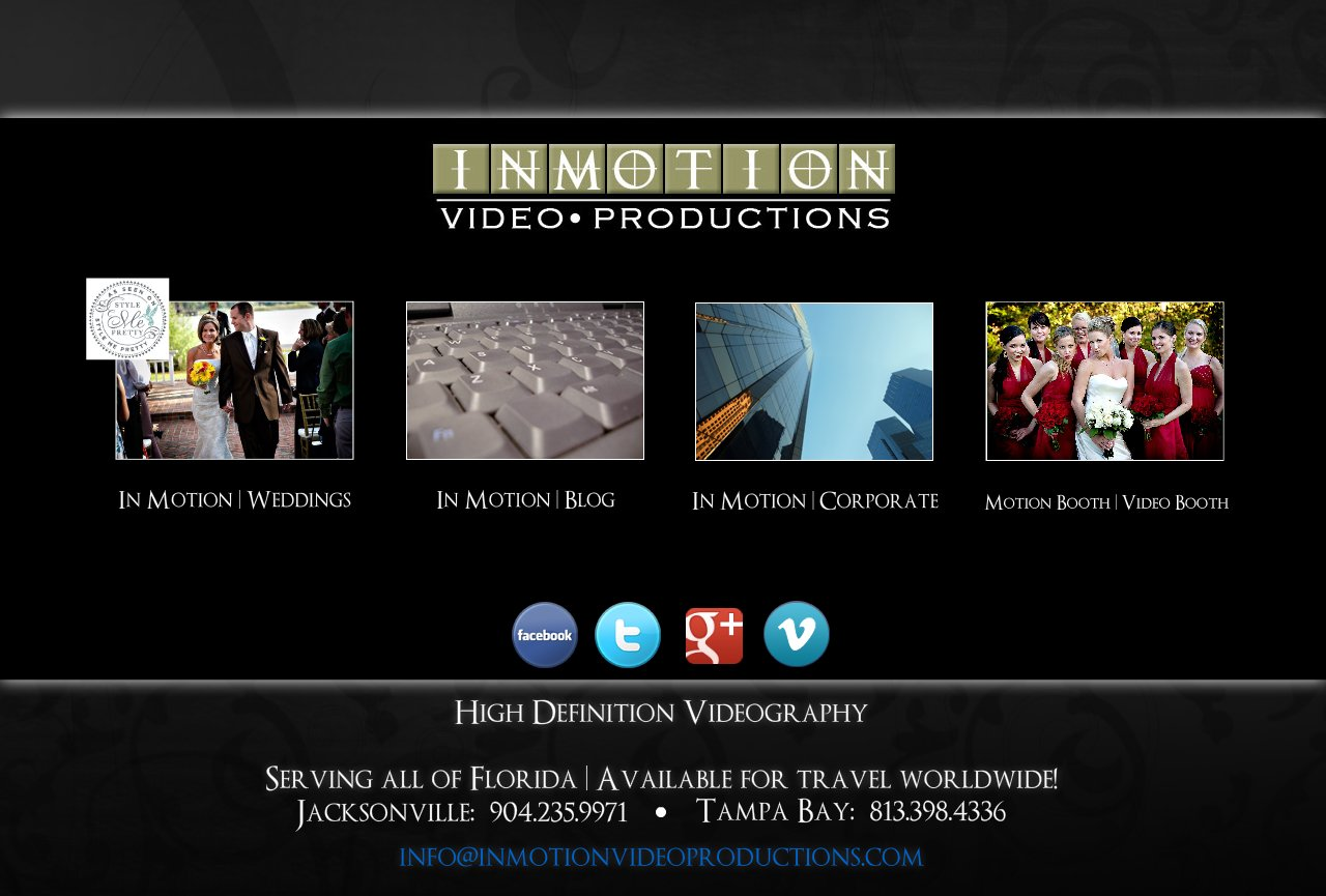 Award Winning Wedding Video serving Tampa, Orlando, Jacksonville, St. Augustine, Gainesville, St Petersburg, Clearwater & Amelia Island Florida, Wedding Videos, Wedding Films, Cinematic Wedding Film