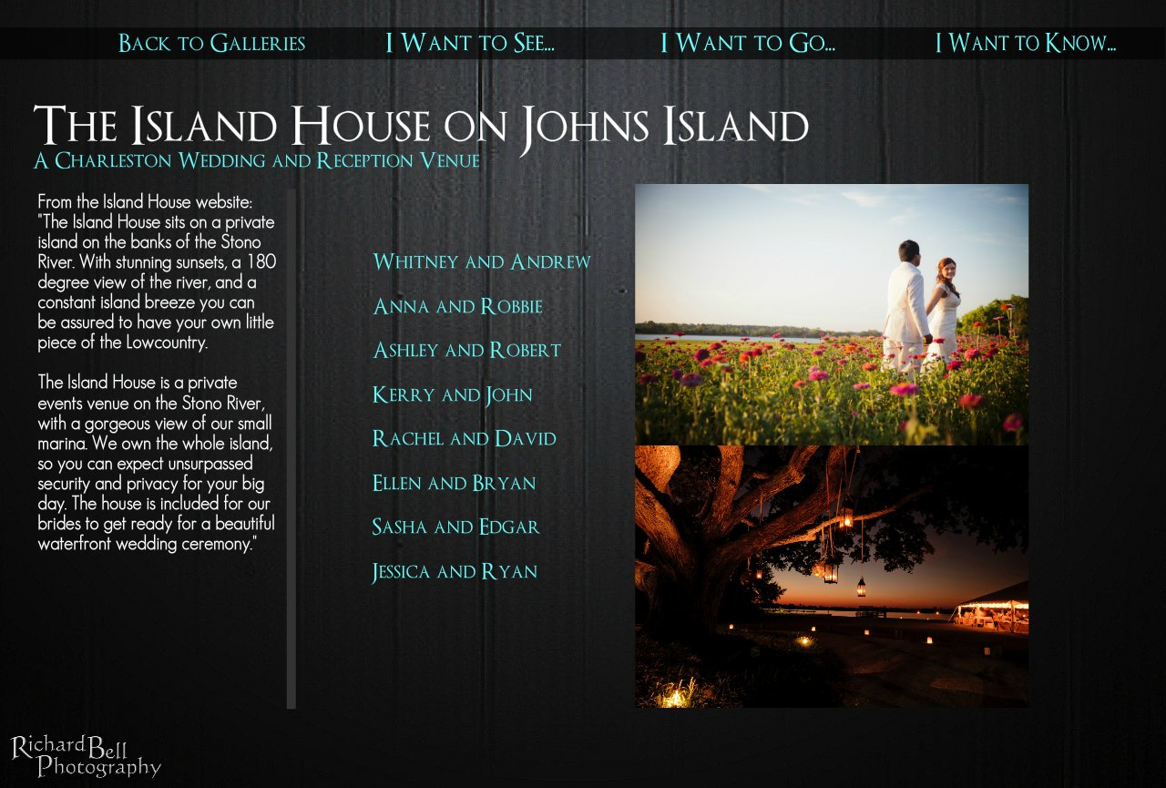 The Island House Charleston Wedding and Reception Venue