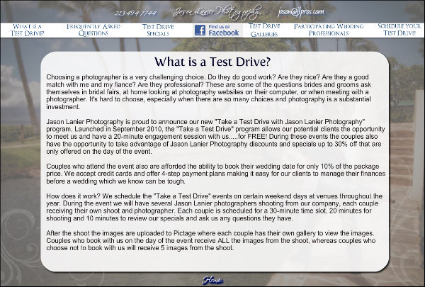What is a Test Drive?