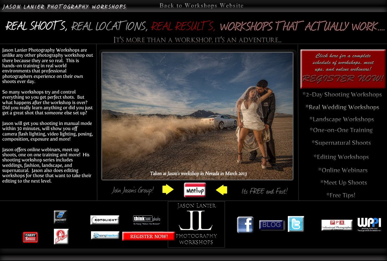 Jason Lanier Workshops Home Page