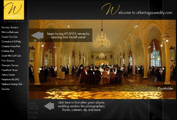 Atlanta Wedding Venue Tours Weditycom Receptions Locations Sites
