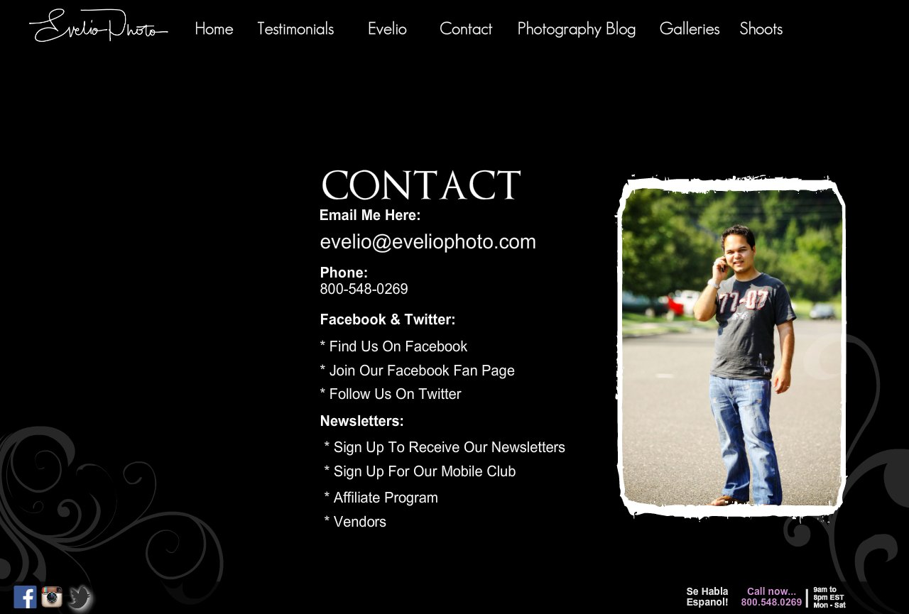 NY Wedding Photographer - Contact