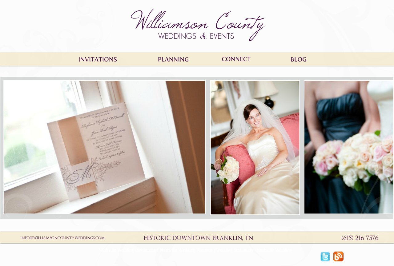 Williamson County Weddings and Events
