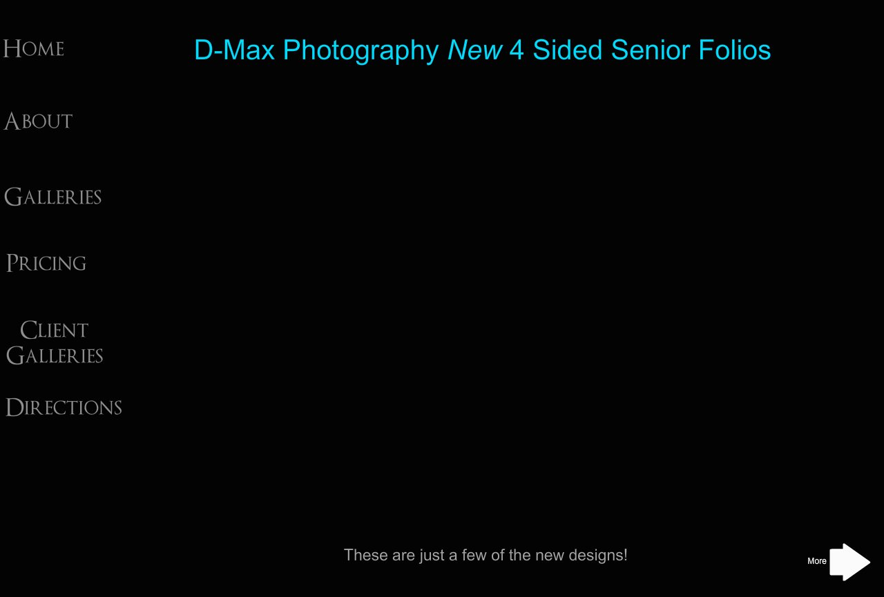D-Max Photography Senior Folios