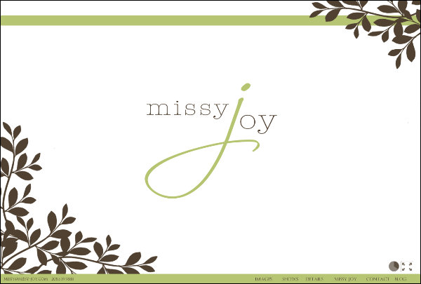 Welcome to Missy Joy Photography