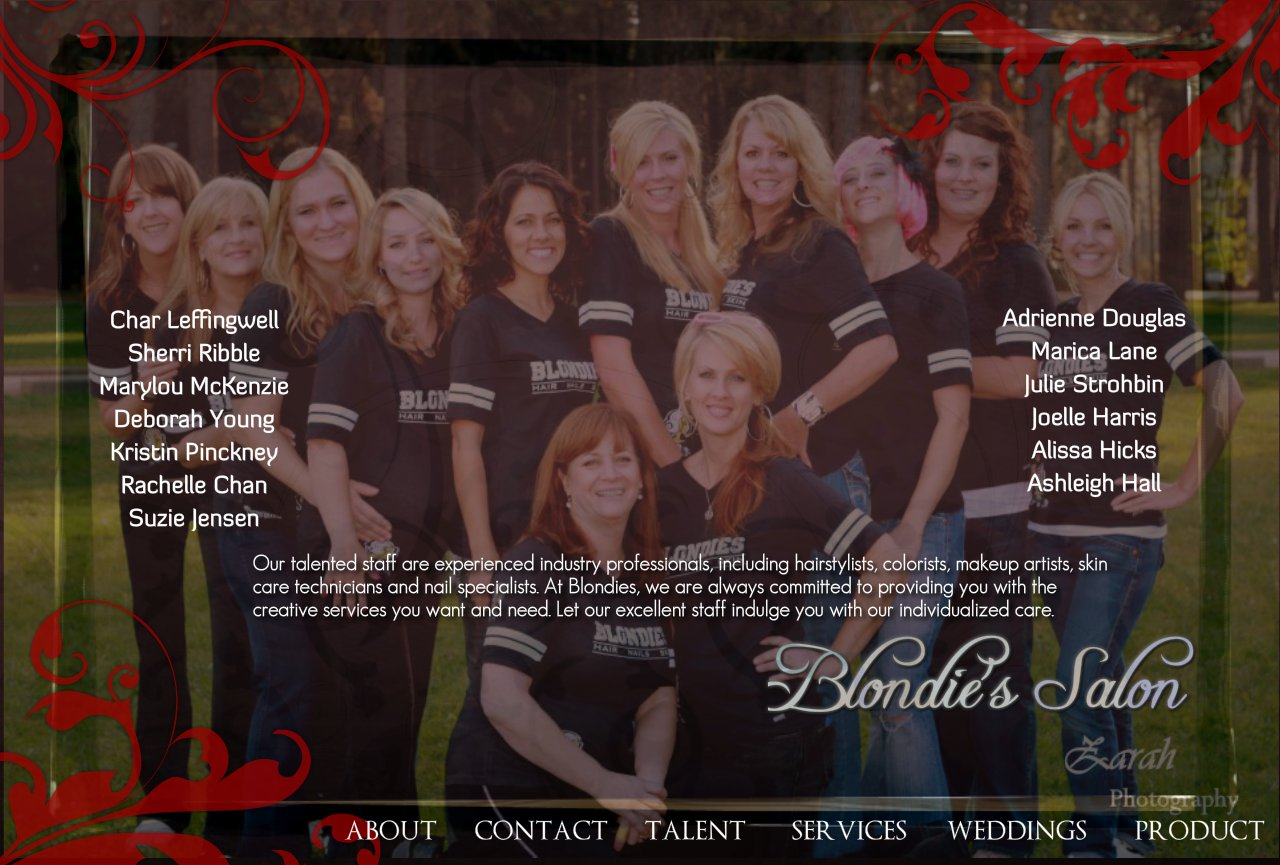Blondie's Salon Grass Valley Talent