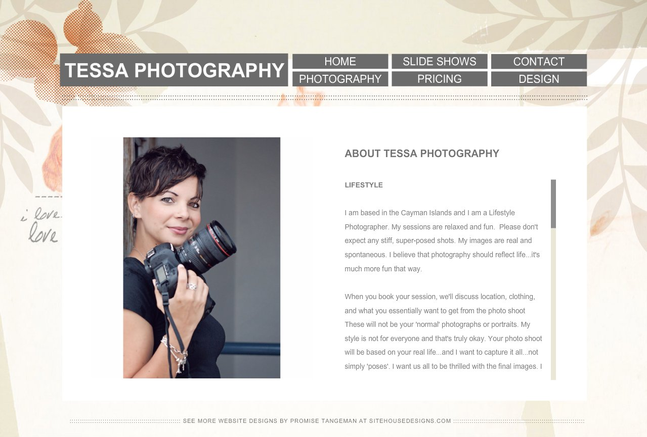 Photography bio template choice image template design ideas for Photography bio template