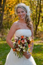 Monroe Center Kilbuck Creek wedding photo