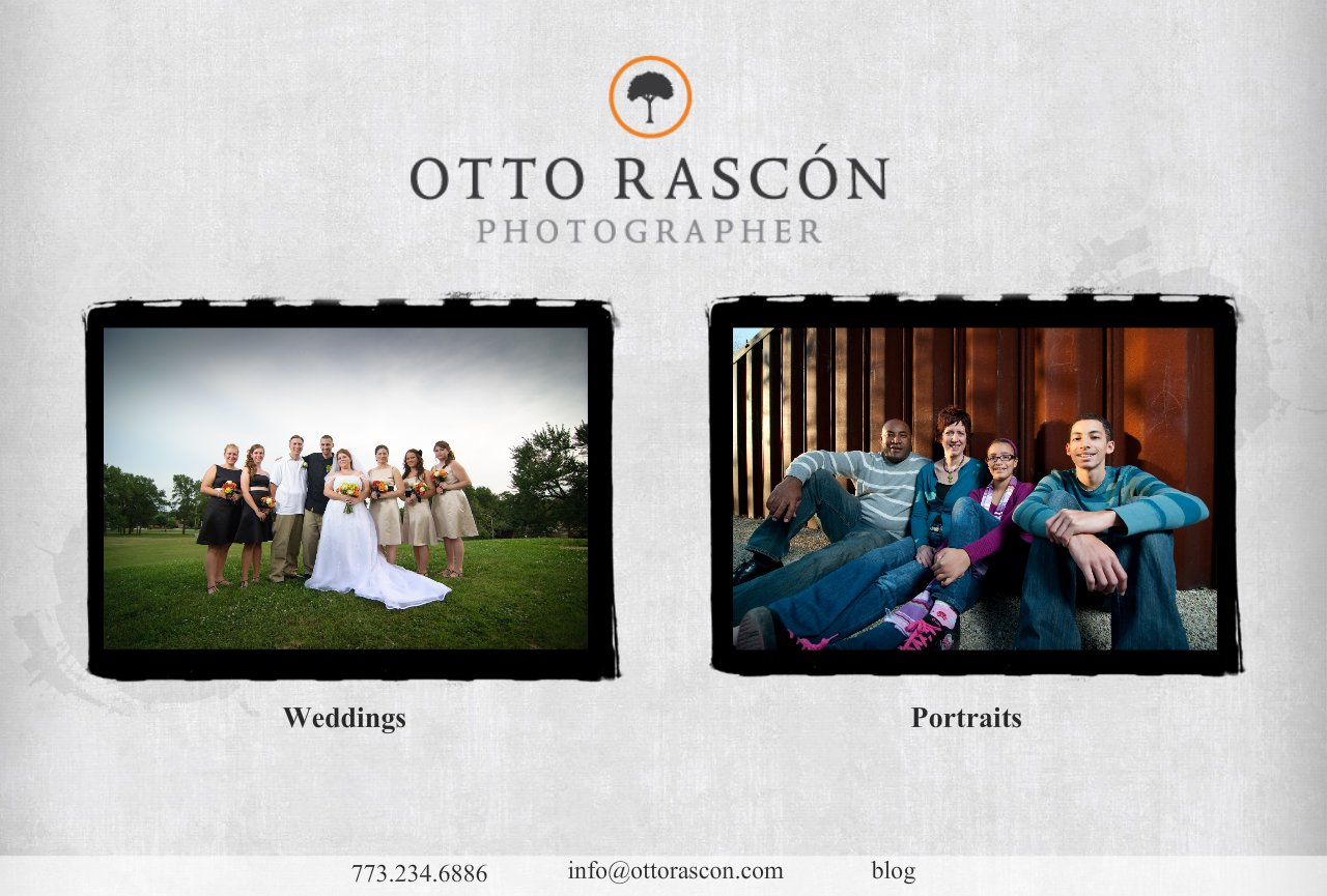 Chicago Wedding Family Portrait Photography - Otto Rascon