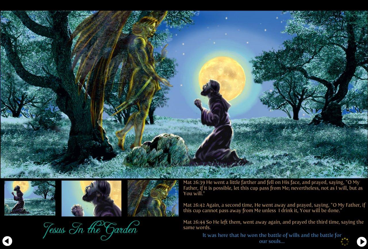 HOS Jesus in garden-1