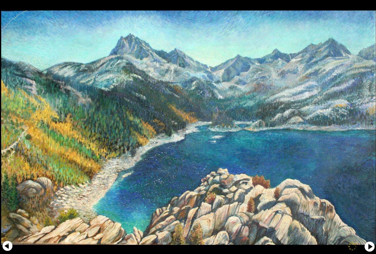 Sierra Mt. lake