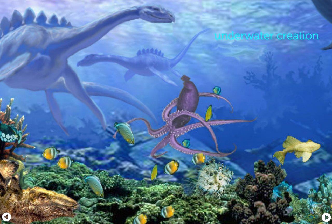 Underwater Creation