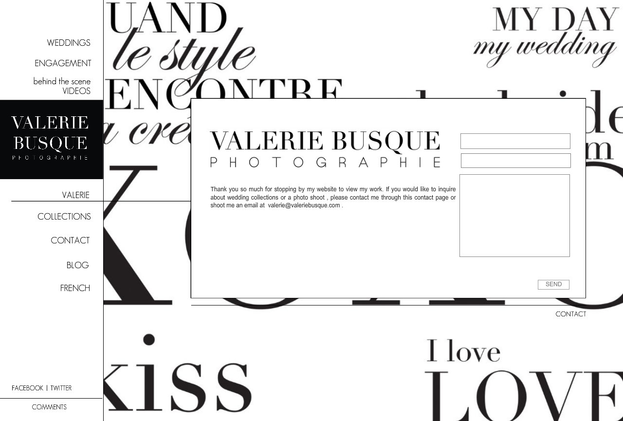CONTACT valerie busque