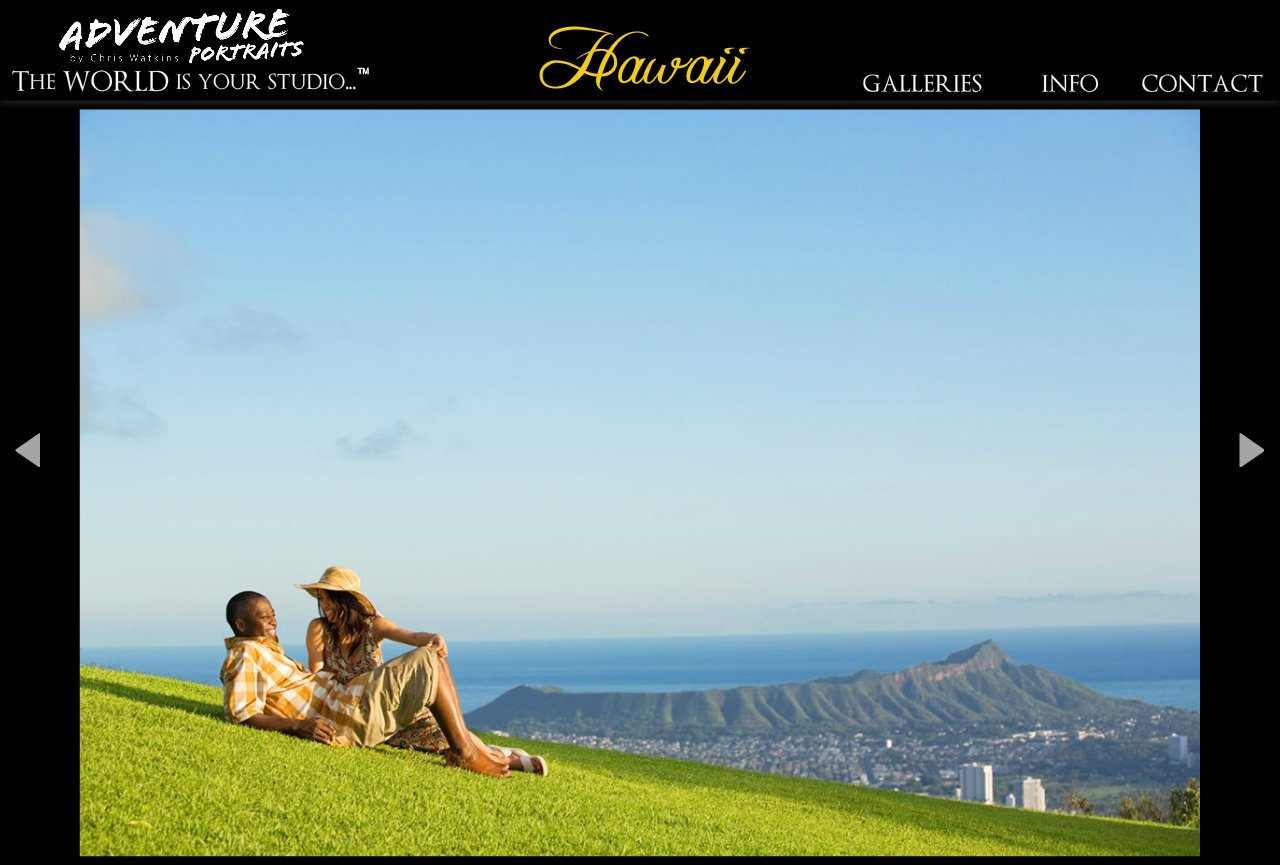 Hawaii destination portraits