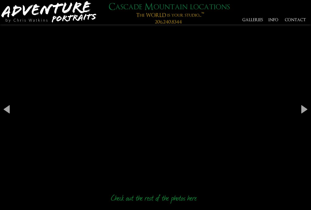 Cascade Mountain portrait destinations