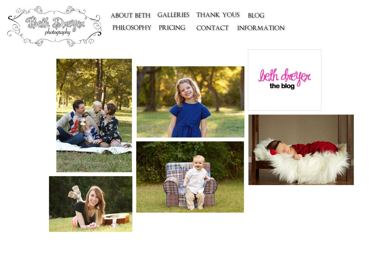 Dallas Family Photographer |  Home