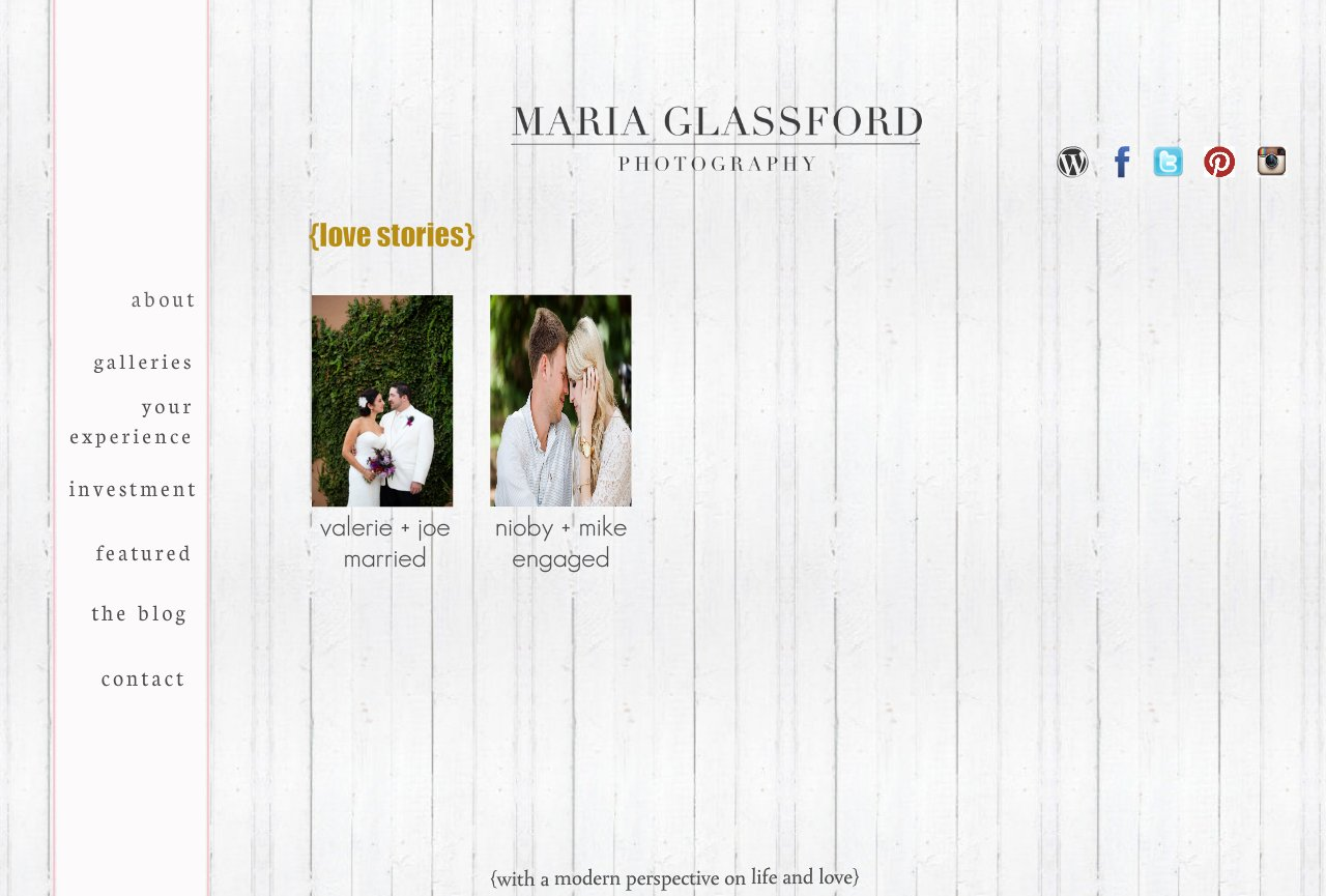 Maria Glassford Photographer- Love Stories