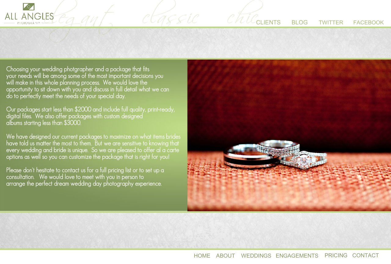 Louisville Wedding Photography - Pricing