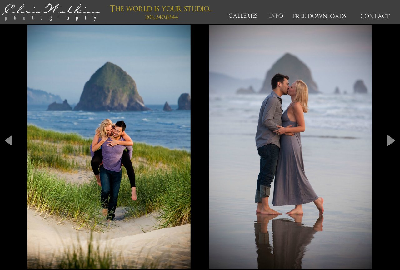 engagement pictures cannon beach