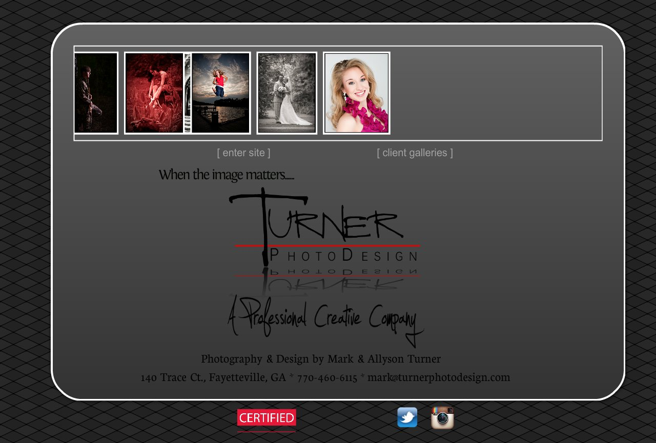 Welcome to Turner PhotoDesign! How can we help you?