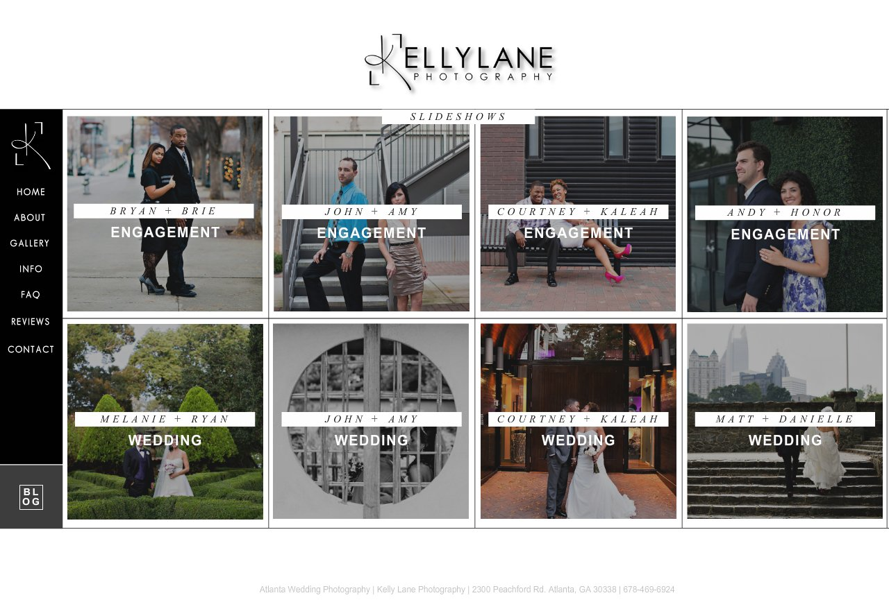 Atlanta Wedding Photography Slideshows