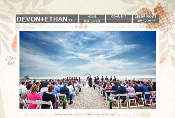 Ocean City Beach Wedding Photography : Devon+Ethan