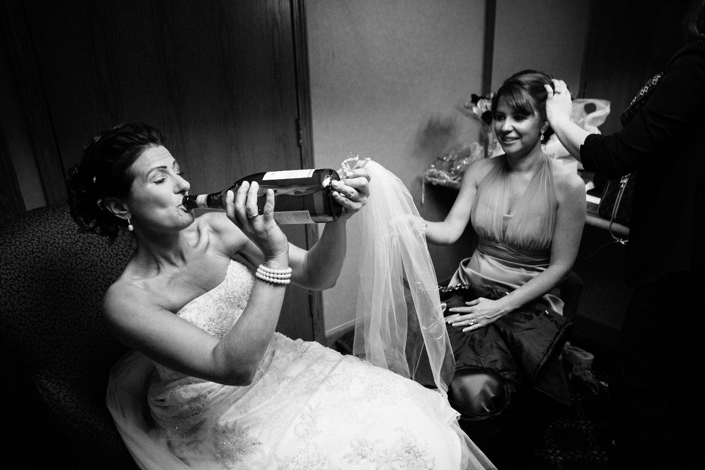 bride_drinking_champagne_san_marino_club_wedding_michigan - Jittery bride - Family & Parenting
