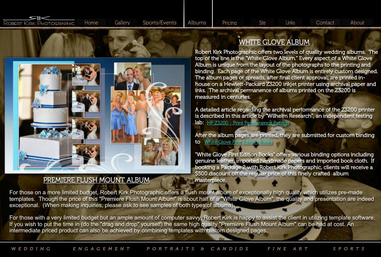Wedding albums robert kirk photo solutioingenieria Image collections