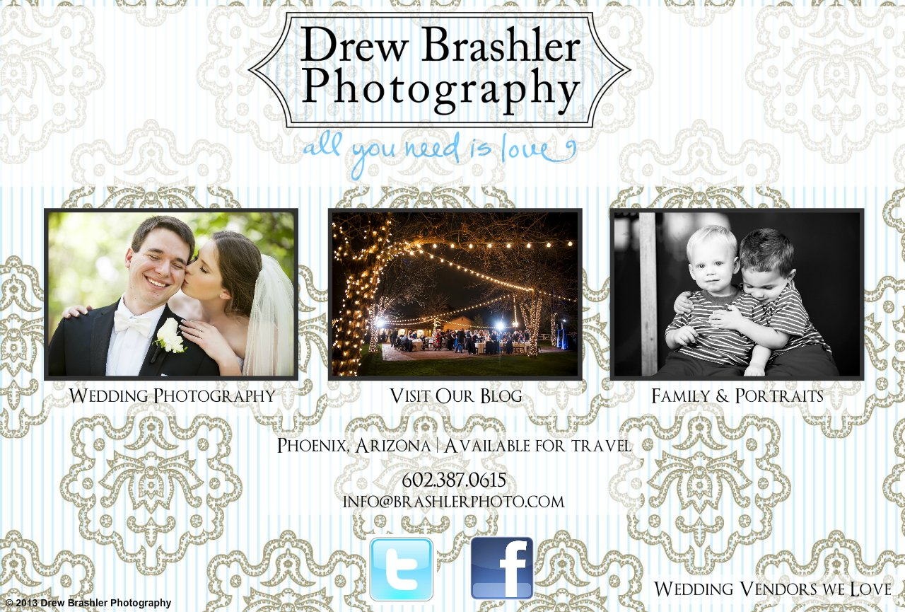 Drew Brashler Photography - Wedding Photography - Phoenix, AZ