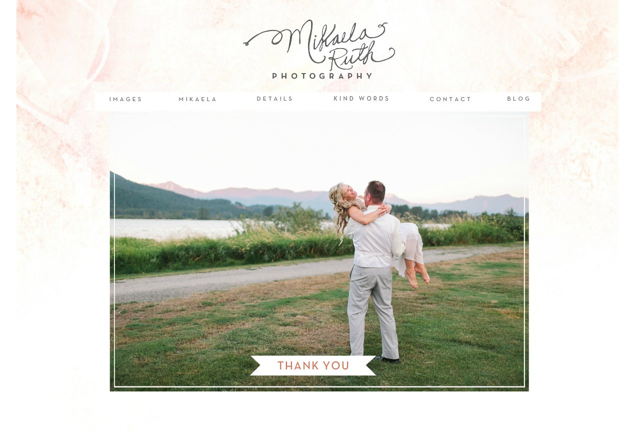 Vancouver Wedding Photographer Mikaela Ruth - Thank You