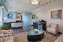 Green Dental Office Design Med Spa Medical Design Plastic Surgery Architect EnviroMed Design Group_Waiting Area Reception 0153