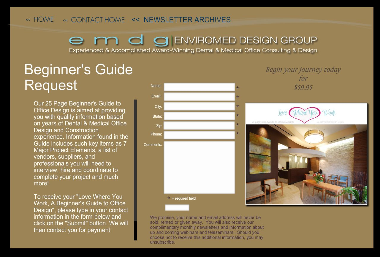 Enviromed design group dental office design medical for Office design guide