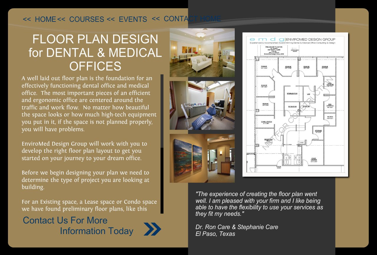 Dental Office Floor Plan