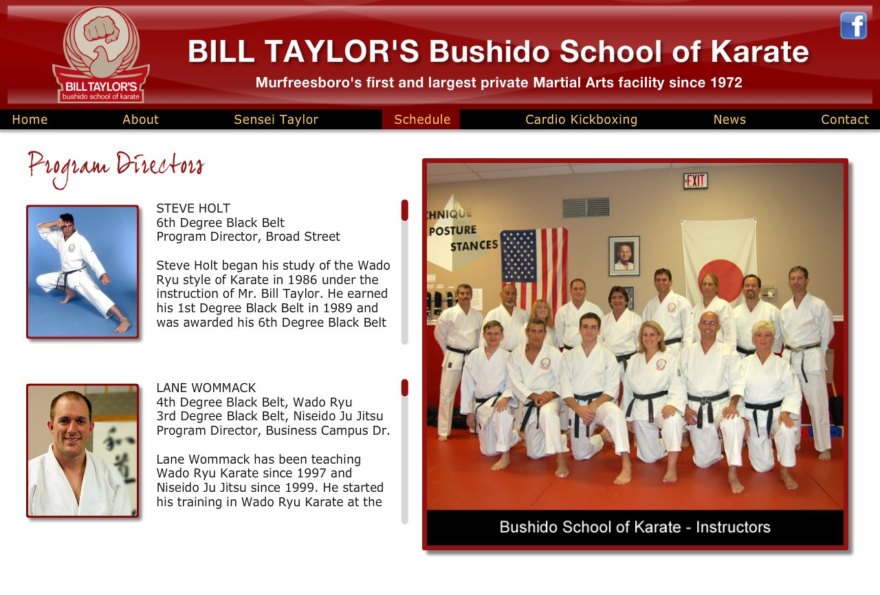 Karate Instructors Murfreesboro, TN
