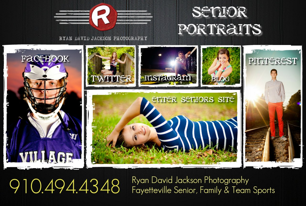 Senior Portraits : Ryan David Jackson Photographers - North Carolina's Newest Senior Portrait Studio in Fayetteville, NC