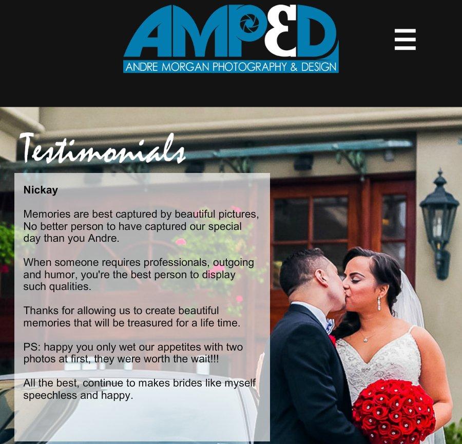 Thanks For Memories Andre >> Andre Morgan International And New Yor Nickay Testimonial