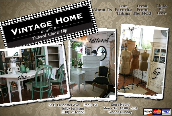 Vintage Home - Tattered, Chic & Hip